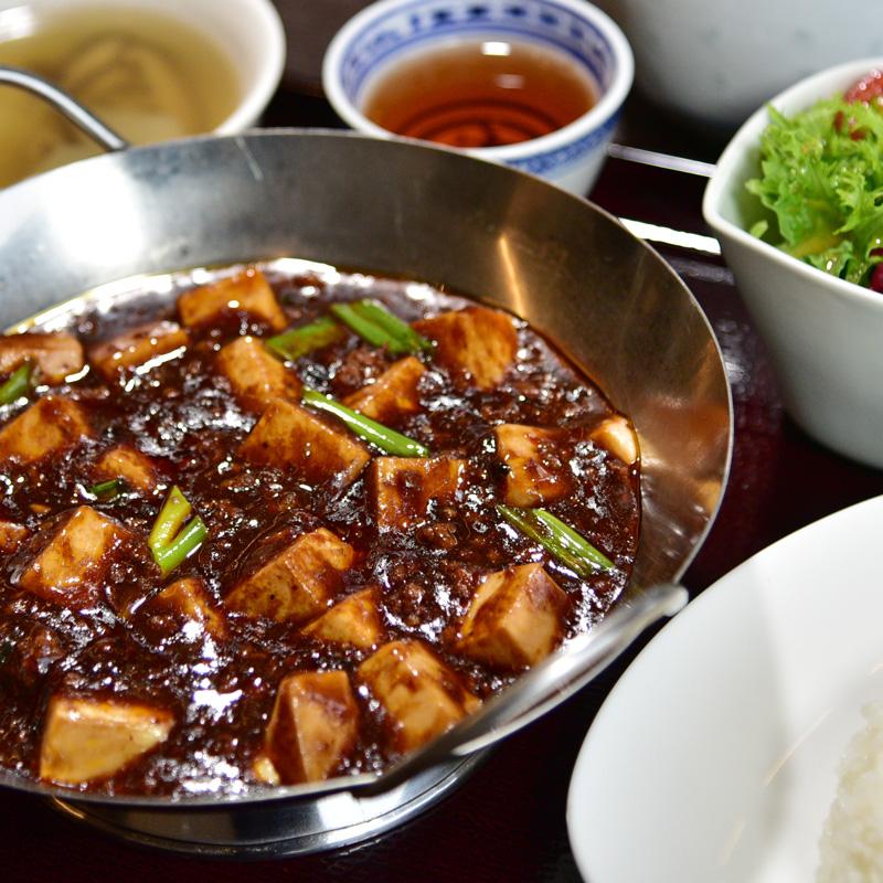 ランチセット重慶式麻婆豆腐